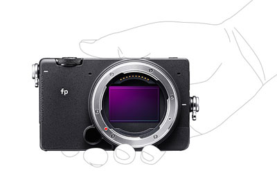 Get hands on with the NEW Sigma fp!