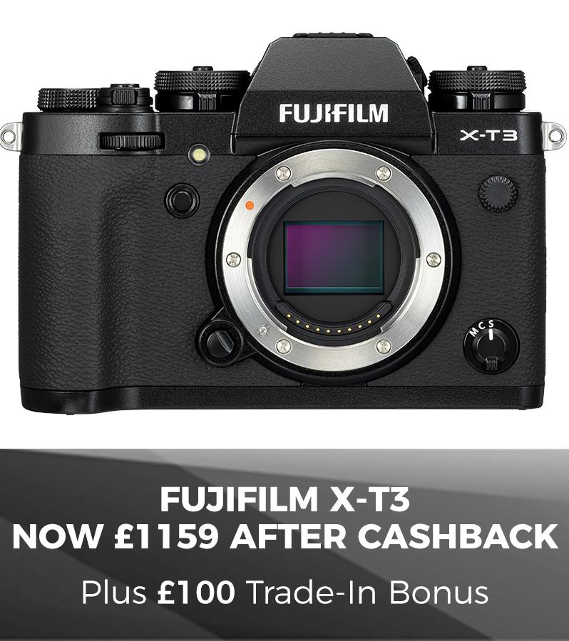 Fujifilm X-T3 Saving
