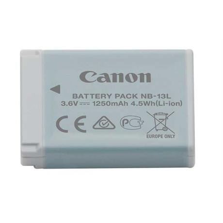 Canon NB-13L Lithium Battery for G + SX Series Cameras Image 1
