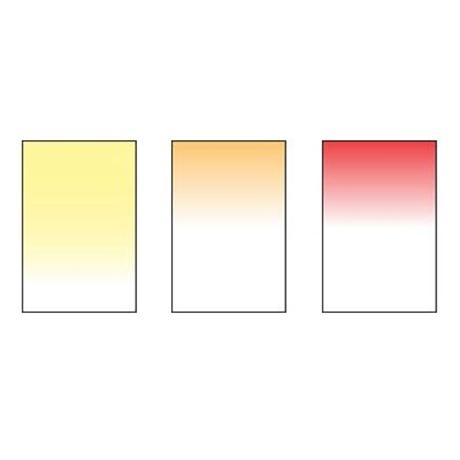 Includes Sunset Orange, Red and Yellow filters.