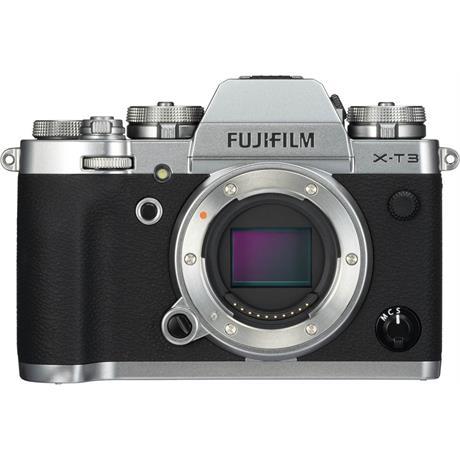 Fujifilm X-T3 Mirrorless Camera (Silver) Image 1