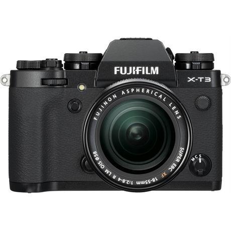 Fujifilm X-T3 Mirrorless Camera + XF18-55mm R Lens Kit (Black) Image 1