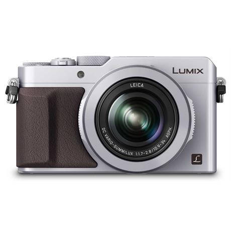 Panasonic Lumix DMC LX100 Silver Compact Digital Camera