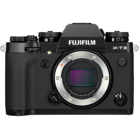 Fujifilm X-T3 Mirrorless Camera (Black) Image 1