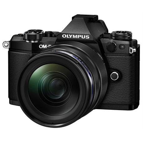 Olympus OM-D E-M5 Mark II Camera With 12-40mm Lens Kit - Black Image 1