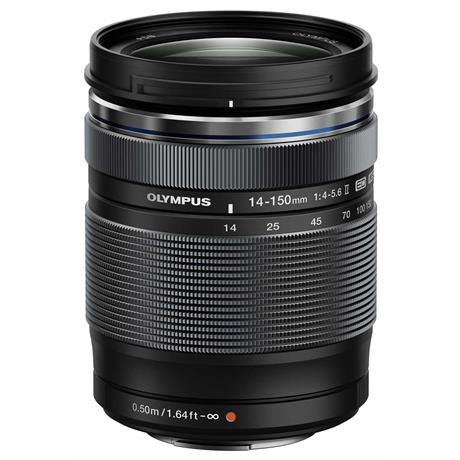 Olympus M.Zuiko Digital ED 14-150mm f/4-5.6 II Zoom Lens - Black Image 1
