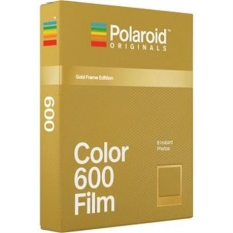 Polaroid Originals 600 Color with Gold Frame Image 1