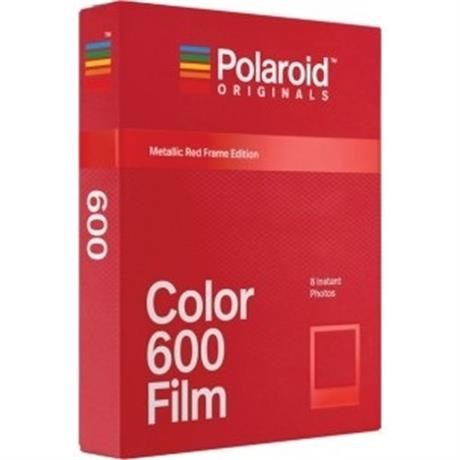 Polaroid Originals 600 Color Red Frame Image 1