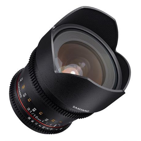 Samyang 10mm T3.1 VDSLR II Lens - Fuji X Mount Image 1