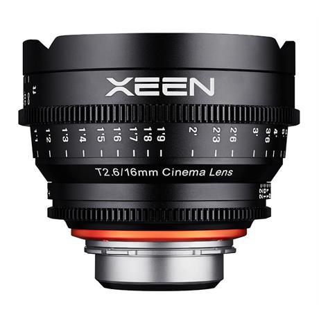 Samyang 16mm T3.1 XEEN Cine Lens - Canon EF Mount