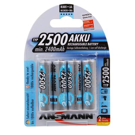 Ansmann MAXe 4 x AA 2500mAh Image 1