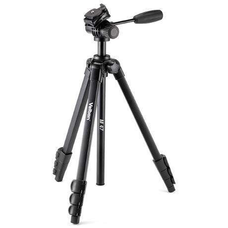 Velbon M47 Aluminium Tripod with 2-Way Fluid Video Head