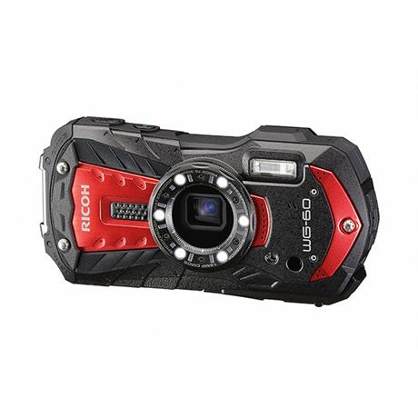 Ricoh WG-60 Red underwater digital compact camerat  Image 1