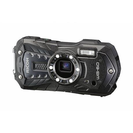 Ricoh WG-60  Black- waterproof & shockproof digital compact camera  Image 1
