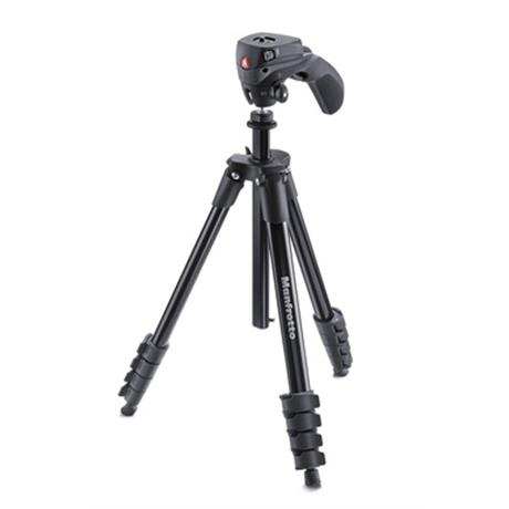 Manfrotto Compact Action Tripod Kit Black Image 1