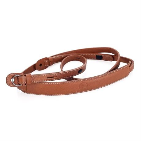 Leica Leather Neckstrap with Protection Flap Cognac
