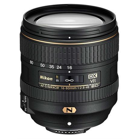 Nikon AF-S DX Nikkor 16-80mm f/2.8-4E ED VR Zoom Lens Image 1
