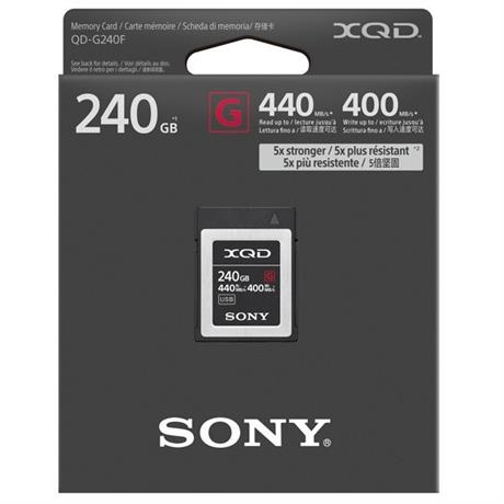 Sony 240GB XQD Card 440mb/s Read 400mb/s Image 1