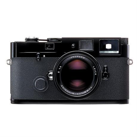 Leica MP 0.72 Black Paint Film Camera Image 1