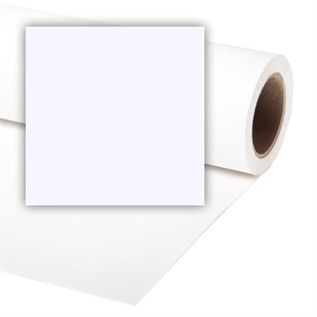 Colorama 2.18x11m Arctic White Background Paper Image 1