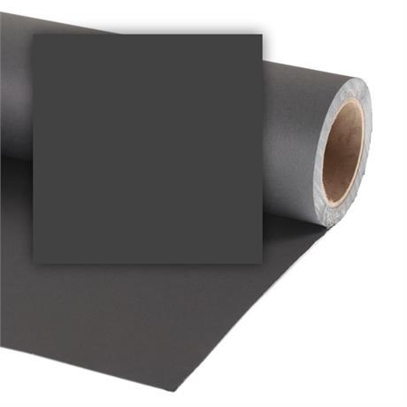 Colorama 2.18x11m Black Background Paper Image 1