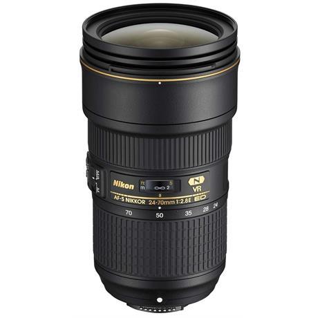 Nikon AF-S Nikkor 24-70mm f/2.8E ED VR Standard Zoom Lens Image 1