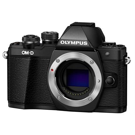 Olympus OM-D E-M10 Mark II Mirrorless Camera Body - Black Image 1