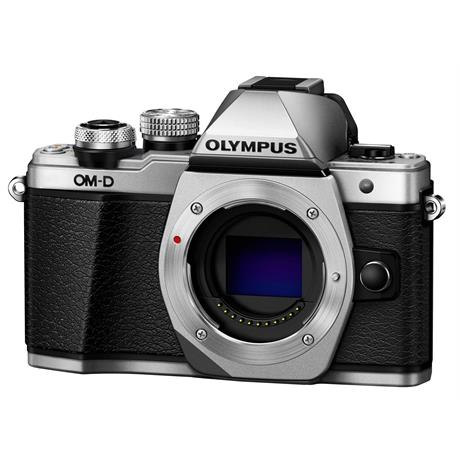 Olympus OM-D E-M10 Mark II Mirrorless Camera Body - Silver Image 1