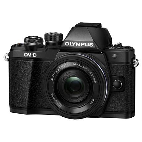 Olympus OM-D E-M10 II + 14-42 EZ mirrorless digital camera Black Image 1