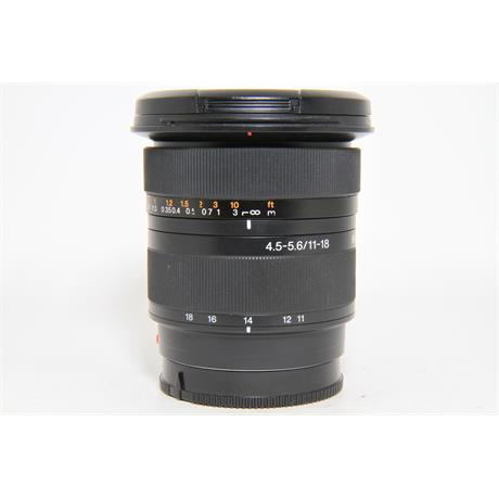 Used Sony A-mount 11-18mm F/4.5-5.6 Lens Image 1