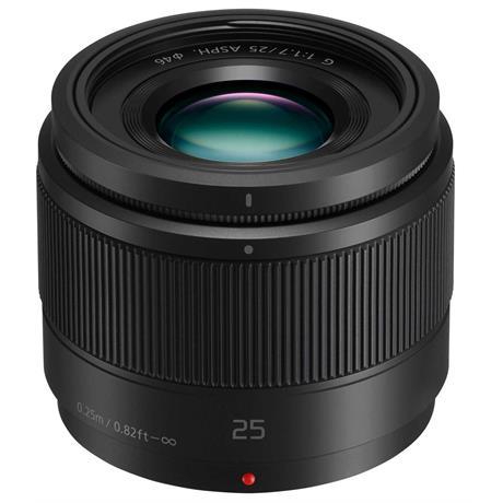 Panasonic LUMIX G 25mm f/1.7 ASPH Lens - Black Image 1