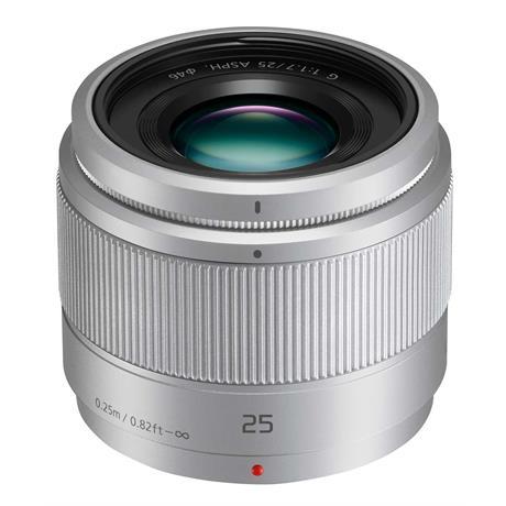 Panasonic LUMIX G 25mm f/1.7 Asph. Silver Image 1
