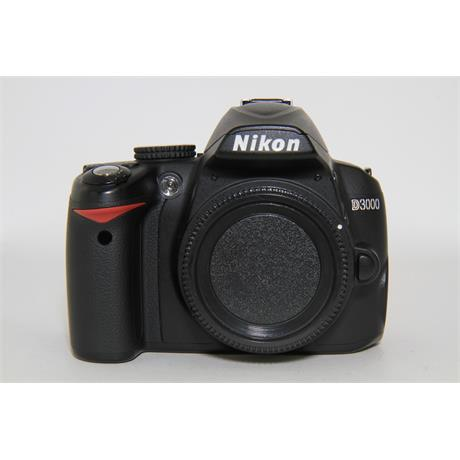 Used Nikon D3000 Body Image 1
