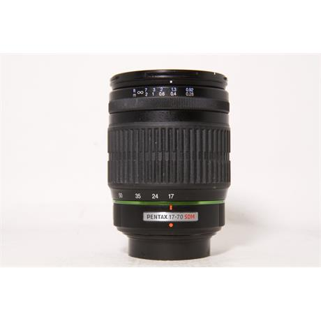 Used Pentax 17-70mm f4 DA AL IF SDM Image 1