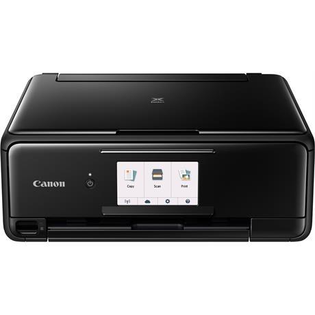 Canon Pixma TS8150 Printer - Black - Refurbished Image 1