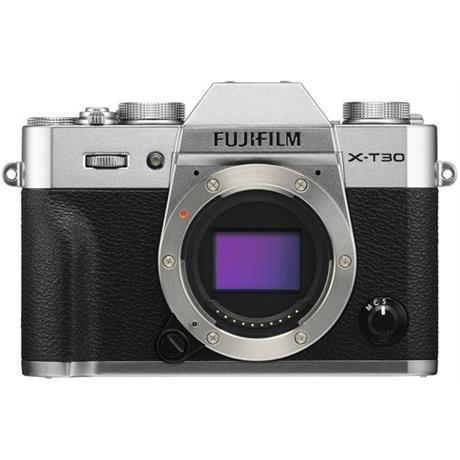 Fujifilm X-T30 camera silver