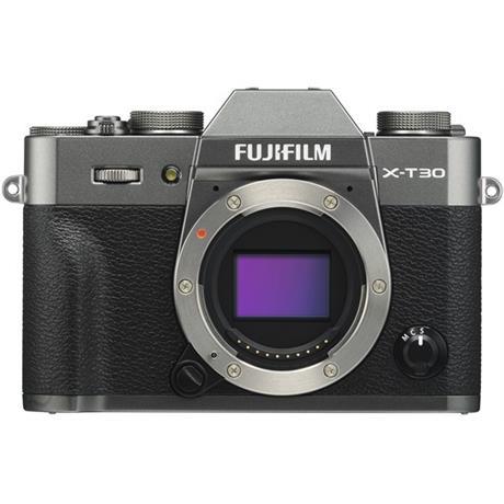 FujiFilm X-T30 camera - Charcoal