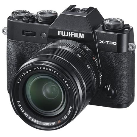 FujiFilm X=T30 with 18-55mm lens