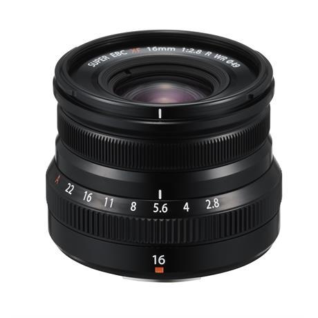 Fujifilm XF 16mm f2.8 R WR Super Wide Angle Prime Lens - Black Image 1