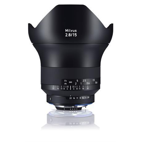 ZEISS Milvus 15mm f/2.8 ZF.2 Lens - Nikon F Mount