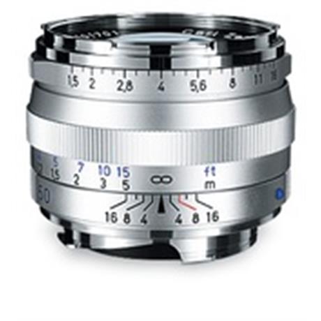 ZEISS C Sonnar T* 50mm F1.5 ZM M-Mount Lens Silver