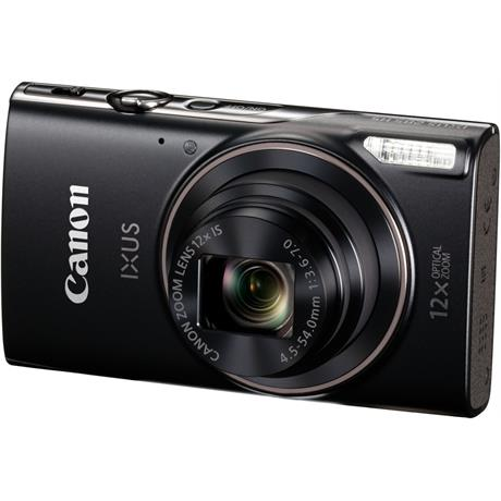canon ixus compact camera black