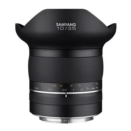 Samyang XP 10mm f/3.5 Lens - Canon EF MountSamyang XP 10mm f/3.5 Lens - Canon EF Mount