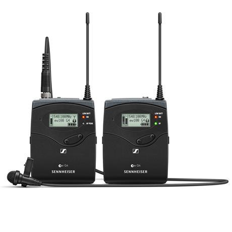 Sennheiser EW 112P G4 Wireless Lavalier Microphone Kit Image 1