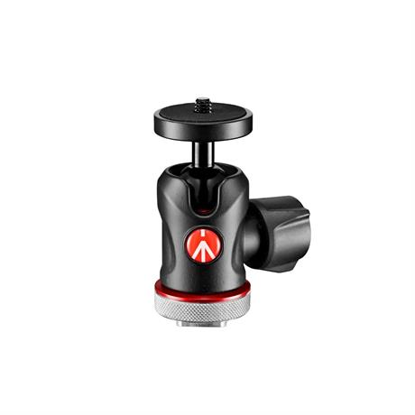 Manfrotto 492 Micro Ball Head with Cold Shoe Mount - Ex Demo Image 1