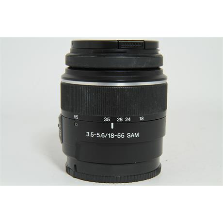 Used Sony 18-55mm F3.5-5.6 SAM Lens Image 1