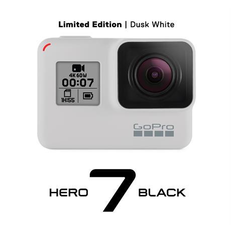 GoPro HERO7 Black - Dusk White - Limited Edition Image 1