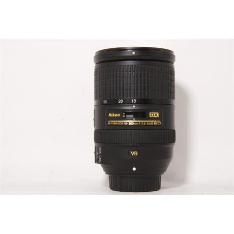Used Nikon DX 18-300mm f3.5-5.6G ED VR Image 1