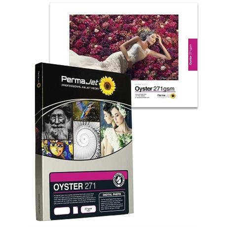 PermaJet 271 Oyster - 271gsm A4 100 Pack Image 1