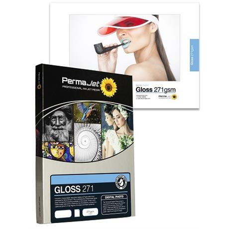 PermaJet 271 Gloss - 271gsm A2 25 Pack Image 1